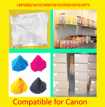 Toner Factory Compatible for Canon LBP5600 5610 5900 5910 5950 5970 Color Toner Powder Color Cartridge Powder Refill Bulk Toner