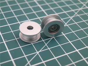 Image 4 - 1pcs aluminum anodized flat idler roller 3mm bore timing belt  for Prusa i3 MK3/MK2 X/Y axis 623h bearing housing DIY parts