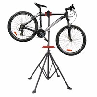 Aluminum Bike Repair Stand Kickstand Mountain Bicycle Wings Rack Bike Repair Tools Bicycle Accessories Parking Hanger