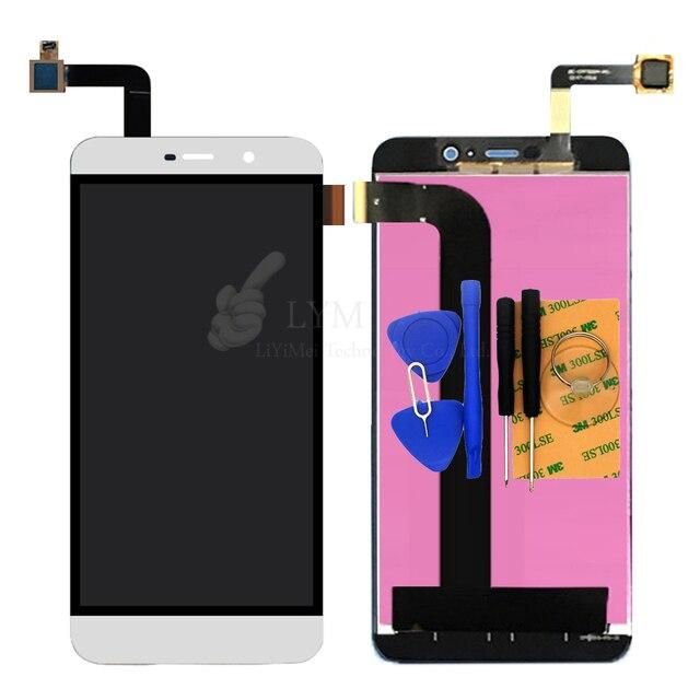 Белый LCD + TP для Coolpad 8298 8298-A01 ЖК-Дисплей + Сенсорный Экран Digitizer Панель Ассамблея Телефон Заменить Часть Бесплатная Доставка + инструменты