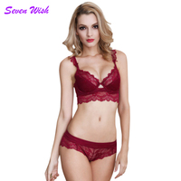Sexy Lace Lingerie Set Fashion Lace Supernumerary Breast Bra Side Gathering Women S Sexy Underwear 5