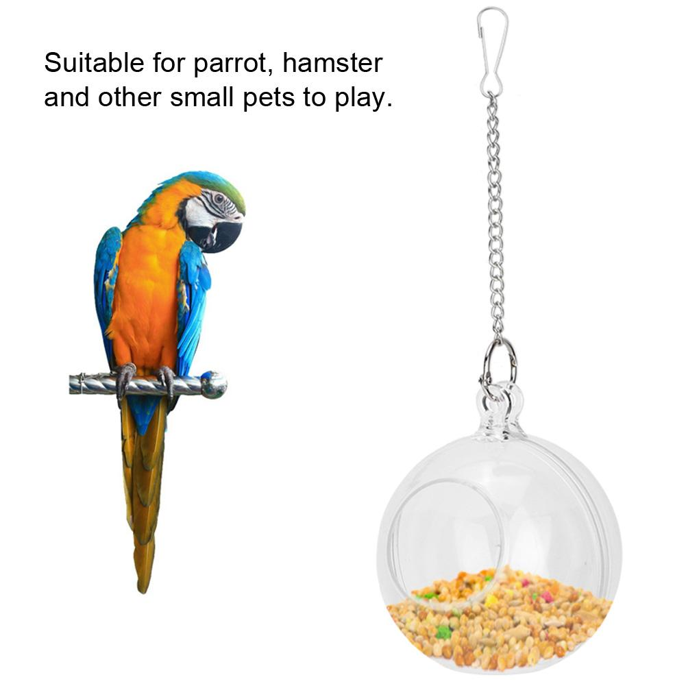 Попугаи интеллект еда мяч игрушки птица висячая кормушка для кормушки клетка для птиц аксессуары клетка для хомяка