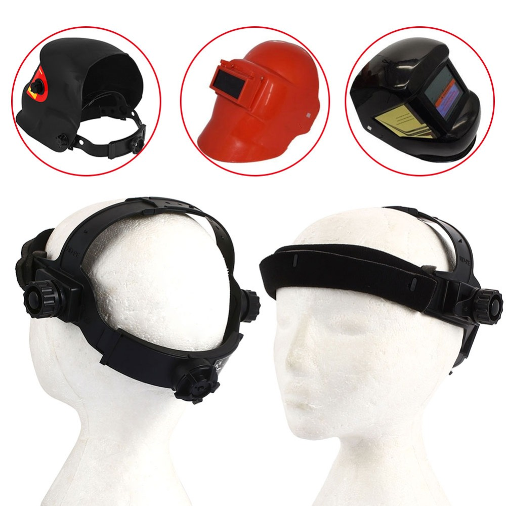 Adjustable Welding Helmet Headband Welding Helmets Welding Mask Headband Convenient PP Argon Protected Welding newest welding glass anti collision version welding eye protection glass welding helmet pc welding mask