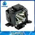 Высокое качество проектор лампа накаливания с корпусом ELPLP22 V13H010L22 для EMP-7800 EMP-7850 EMP-7850P EMP-7800P ect.