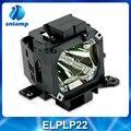 Alta calidad proyector bombilla de la lámpara con la vivienda ELPLP22 V13H010L22 para EMP-7850P EMP-7800 EMP-7850 EMP-7800P ect.