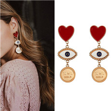 Lovely-Exaggerated-Eyes-Heart-Lips-Earrings-For-Women-Jewelry-Fashion-Statement-Drop-Dangle-Earring-Party-Accessories
