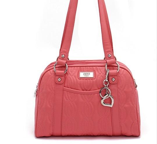 gigi hill brand women s tassel handbags paternet weekender bag zipper  classic shoulder bag flower printing leather bags 4 color-in Shoulder Bags  from ... 06de25f687b4a