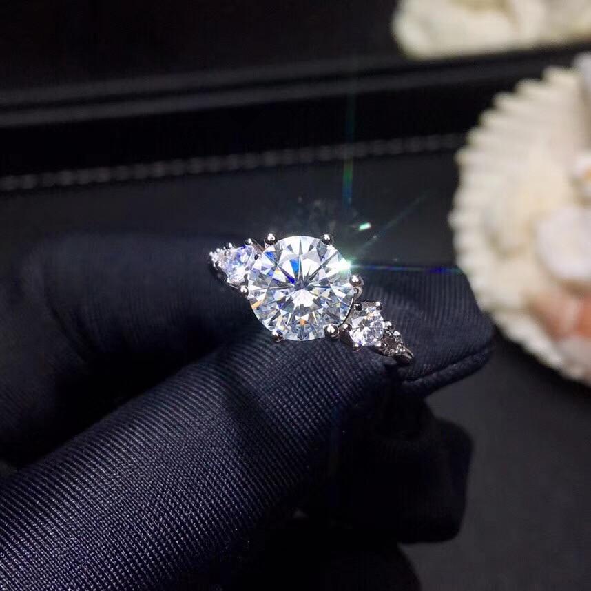 Moissanite, carats 슈퍼 핫 판매, 다이아몬드와 비교, 절묘한 장인 정신-에서반지부터 쥬얼리 및 액세서리 의  그룹 3