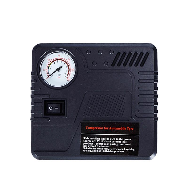 High Pressure 12 Volt Dc Car Pump Air Compressor Portable