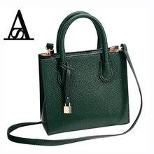Фотография Aitesen Lychee small fashion luxury Lock handbags women shoulder bag designer michael handbag obag handles bolsas victor hugo