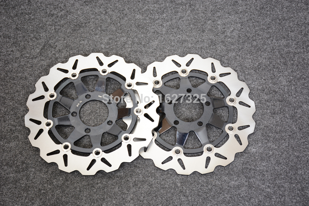 Brand new Motorcycle Front Brake Disc Rotors For SUZUKI GSF650 Naked Bandit 95-99/SV650 99-02 Correspondence year universal the maya in transition