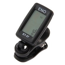 Wholesale 5X ENO Tuner with clips for Guitar Bass Violin Chromatic 360 degree turn
