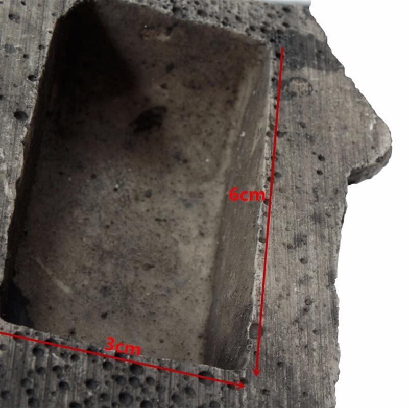 Outdoor Safe Home Key Box Rock Hidden Hide In Stone Security Safe Storage Hiding Garden Outdoor Muddy Mud Spare Key House