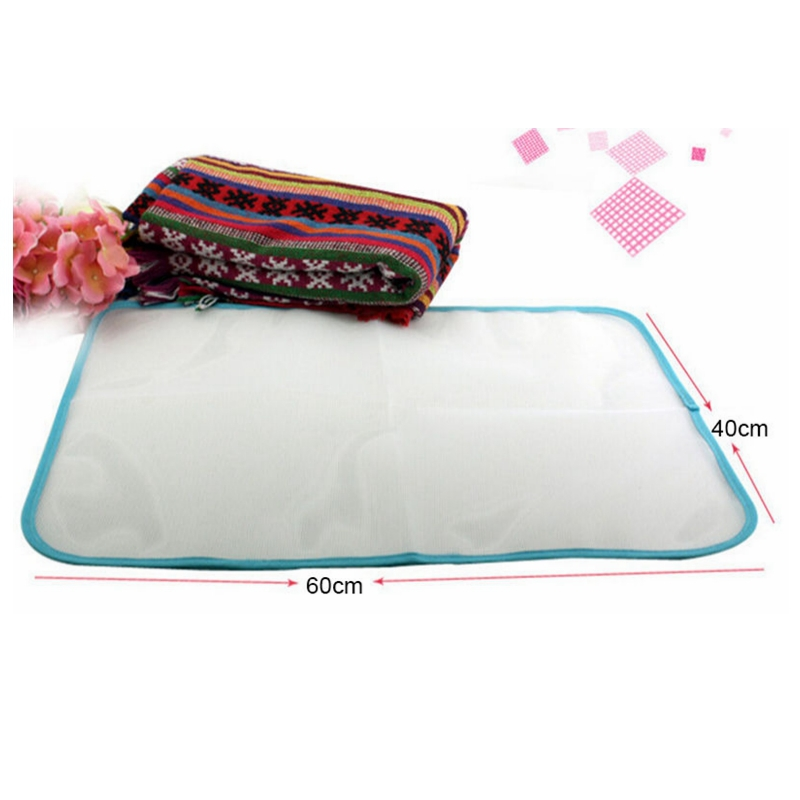 NEW Protective Press Mesh Ironing Cloth Guard Protect Delicate Garment Clothes in Ironing Boards from Home Garden