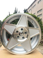 18 STAR STYLE SILVER RIMS VW VOLKSWAGEN GOLF GTI JETTA GLI PASSAT A3 A4 A5 A6 W030