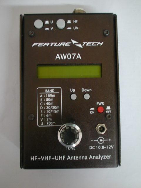 AW07A Antenna AnalyserAW07A Antenna Analyser