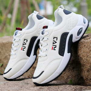 Image 2 - 秋男性スニーカー通気性作業靴、カジュアルスポーツの靴屋外ウォーキングシューズエアクッション男性の靴zapatosやつsapatos