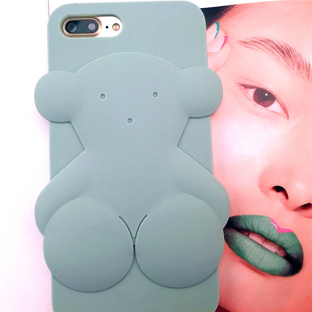 cartoon bear phone cases for iphone 7 case iphone 6s coque 3d silicon case kawaii back cover for. Black Bedroom Furniture Sets. Home Design Ideas