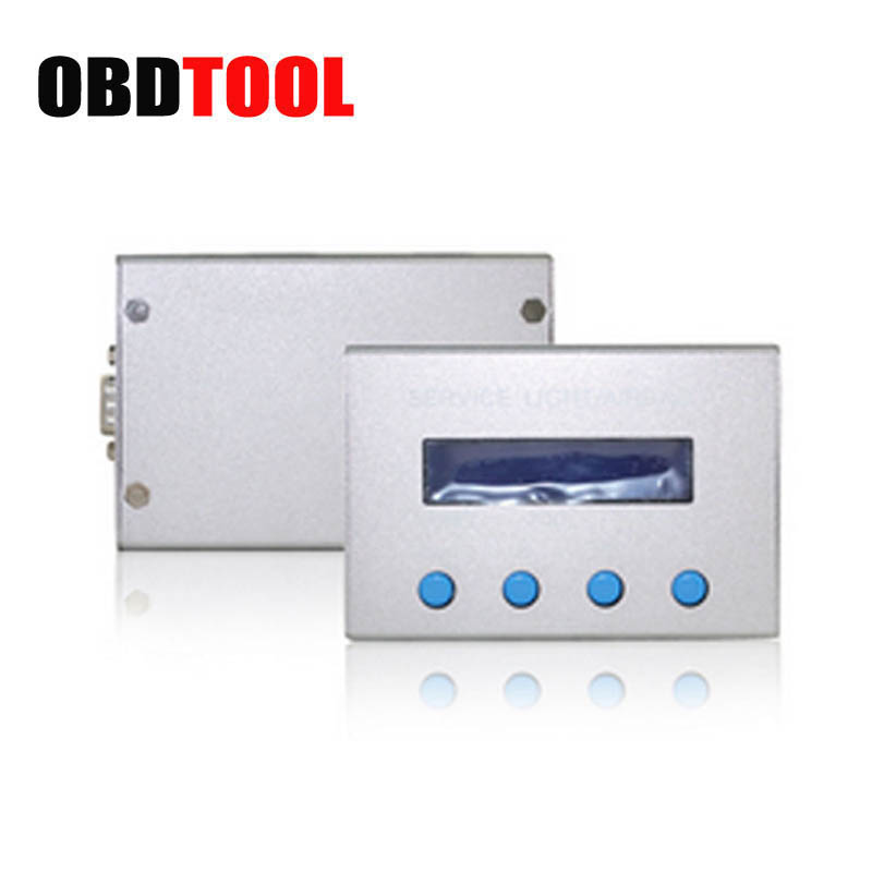 ObdTooL Universal 10 in 1 Service Light & Airbag Reset Tool Auto Mileage Correction Tool Car Diagnostic Scanner цена