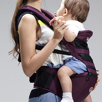 AIEBAO Breathable Multi functional Baby Hip Seat Baby Carrier Baby Sling Backpack Pouch Wrap Baby Backpack Carrier A6610
