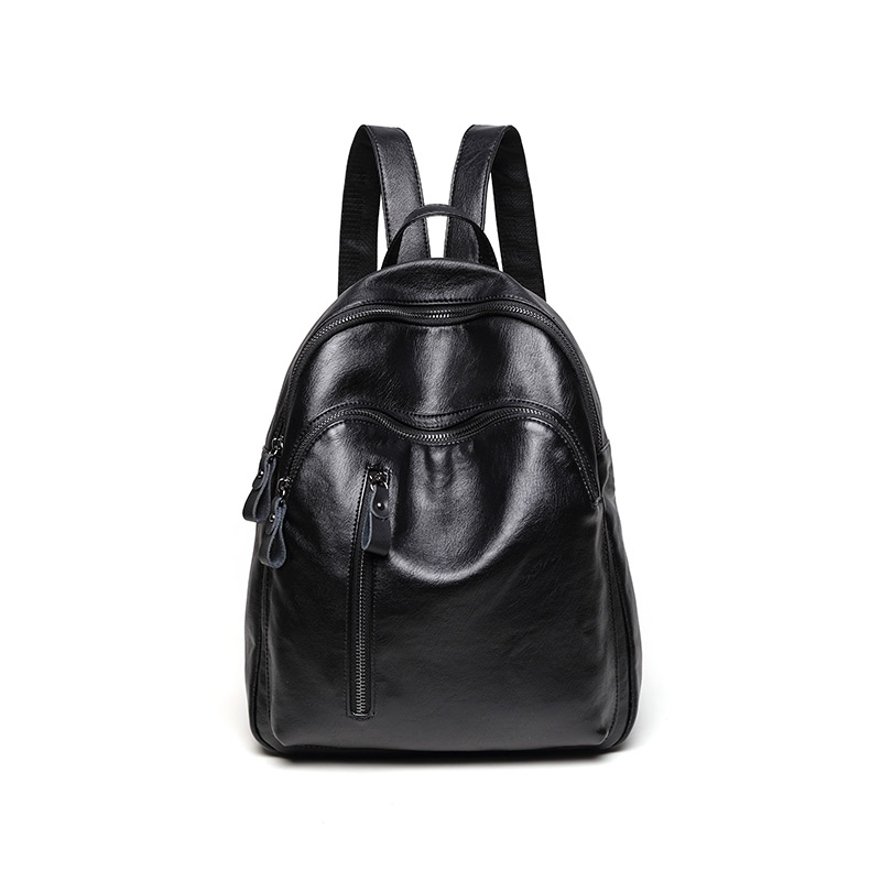 Leisure Genuine leather backpack women luxury brand sheepskin large-capacity casual simple soft leather student backpacks free shipping brand simple style genuine leather womens casual jackets plus size soft sheepskin jacket sales slim clothing