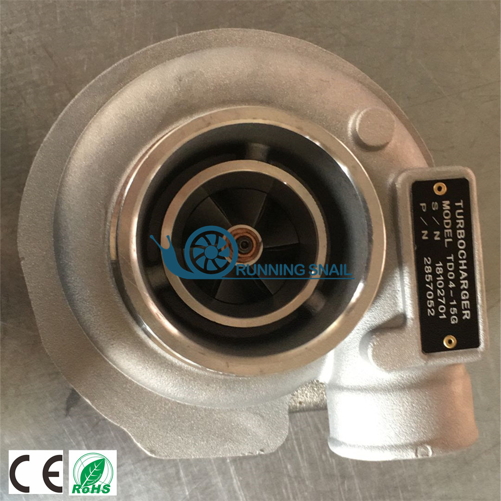 Turbocharger For Iveco Truck NEF Holset HX25 4045362 504225294 4045361 2857052 2006-11