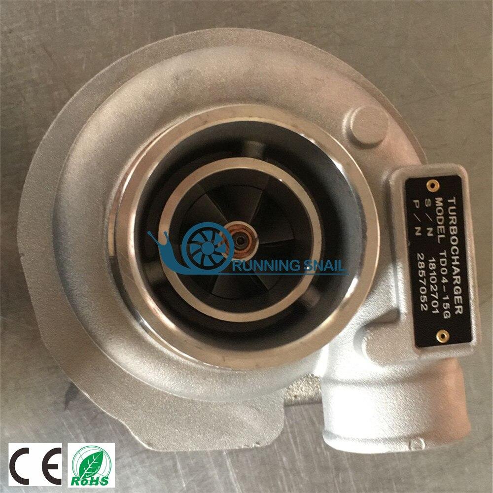 Turbocompresseur pour Camion Iveco NEF Holset HX25 4045362 504225294 4045361 2857052 2006-11