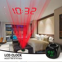 LED De Projection Alarme Horloge Numérique Home Decor Ornement Décoration Creative Cadeaux