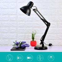 led reading light white yellow warm 3 Channel indoor light pupil plug in writing dormitory children bedroom bedside desk lamp