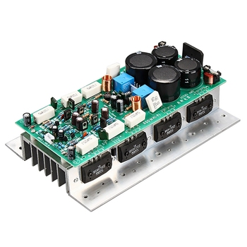 Hot Suitable For Sanken1494 / 3858 Hifi Audio Amplifier Board 450W + 450W Stereo Amp Mono 800W High Power Amplifier Board With