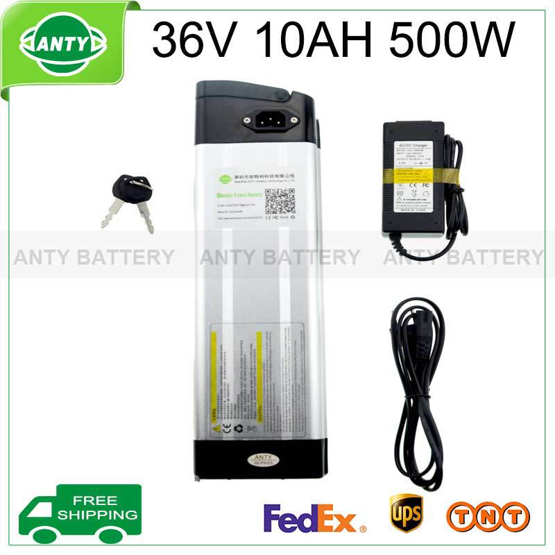 36v 10ah Battery 500w Ebike Battery 36v With 42v 2a Charger,15a Bms Lithium Scooter Battery 36v Electric Bicycle Free Shipping free customs taxes 36v 10ah li ion battery 36v 10ah water bottle lithium battery 36v 10a battery for ebike with bms and charger