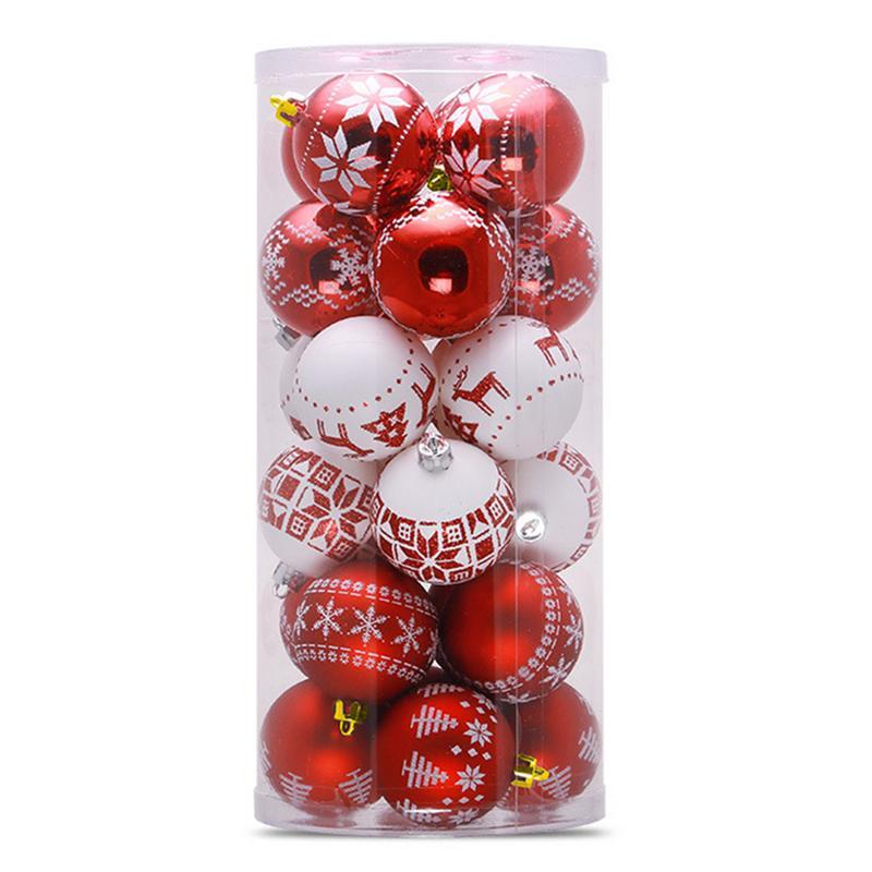 Kopen Goedkoop 6 Cm 24 Kerstballen Kerstboom Decoratie Ballen