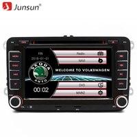 Junsun 7 Inch 2 Din Car Radio DVD GPS Player For VW Skoda Fabia Praktic Roomster