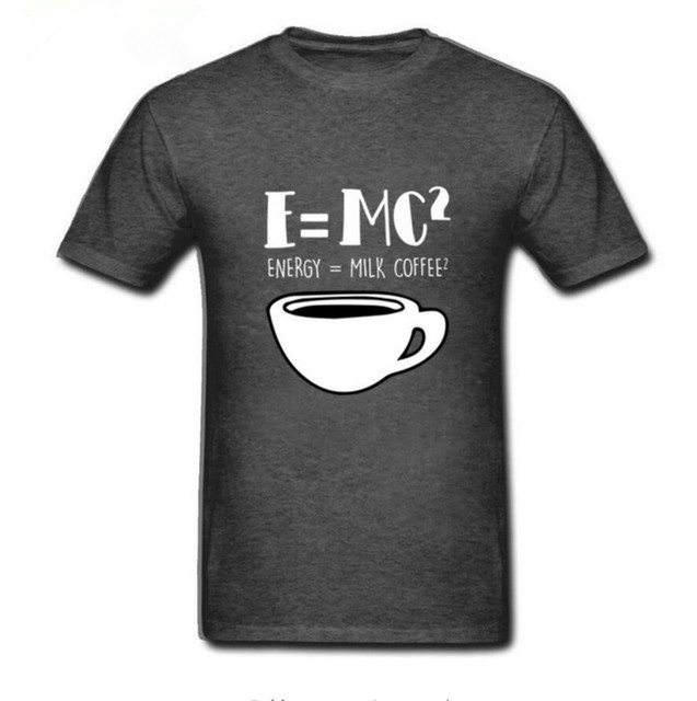 2019 Funny Men's T-shirts Supernatural Cotton Short Sleeve O Neck tshirt men Physics Science E=MC2 T shirts Comic Math Tee Shirt