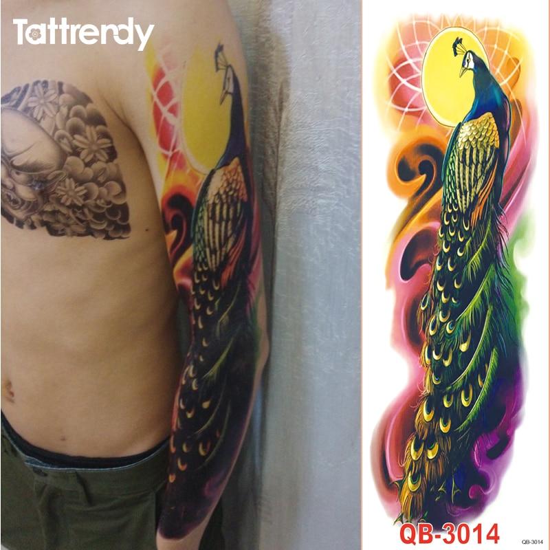 Popular shoulder flower tattoos buy cheap shoulder flower for Fake body tattoos