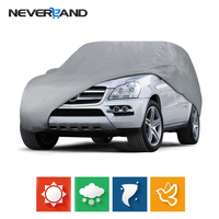 Outdoor Indoor Full Car Cover Sun UV Snow Dust Resistant Protection Size L XL Car Covers Protector Coat SUV