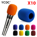 + Cheap Sale+Free Shipping + 10Pcs/lot Black Handheld Stage wireless microphone Windscreen Sponge Cover Karaoke DJ Sales EN9970