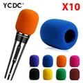 + Cheap Sale+Free Shipping + 10Pcs/lot Black Handheld Stage wireless microphone Windscreen Sponge Cover Karaoke DJ Sales EN9970