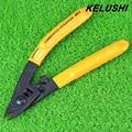 CFS-3 KELUSHI três-port Fibre CFS-3 fibra Stripper stripping alicates/Ferramentas Moleiro FTTP fibra óptica stripping strippers fio