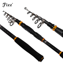 Super Quality Telescopic Sea Fishing Rod Carbon Fiber Pole Metal Reel Seat High Strength Fishing Rod 1.8/2.1/2.4/2.7/3.0/3.6M