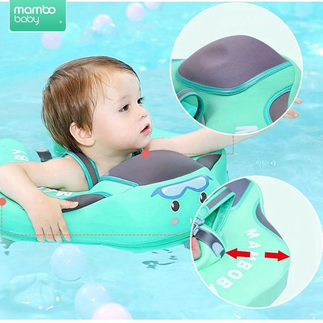 Solid No Inflatable Safety for Baby Swimming Ring floating Swim ring float Suitable for 0-2-3-6 years old 1