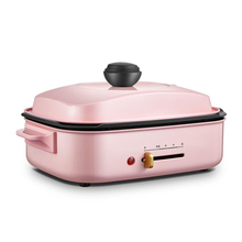 Electric Barbecue Grill Multifunctional Electric Cooker Household Electric Hot Pot Eletric Grill Pan All in One Machine IT-6090B 1100w 3l non stick multifunctional electric household hot pot electric cooker heat pan fryer chafing dish suits 3 4 people