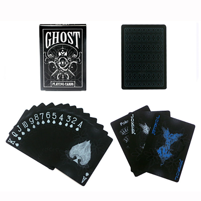 2 Kinds Frosted Waterproof Plastic Playing Cards For Gift/Party/Family Game Magic Poker Individual Flower Cut Cards