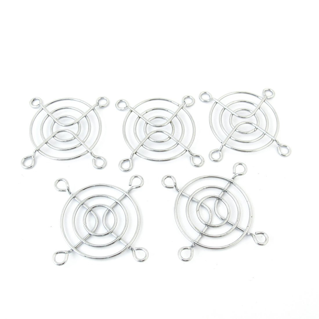 PROMOTION! 5 pcs 4cm Diameter Axial DC Fan Grill Metal PC Finger Guard Protector 3pcs gdstime 200mm chrome metal computer pc fan grill mounting finger guard protection