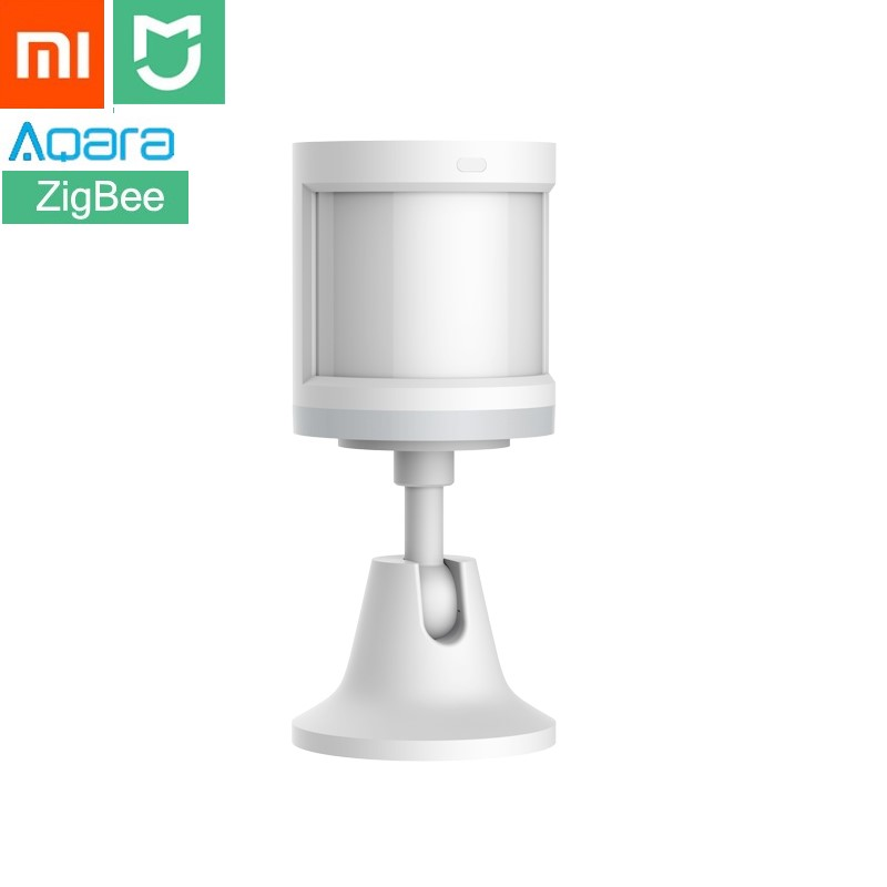 Xiaomi Aqara MIJIA Human Body Sensor ZigBee Version Wireless WiFi With Holder Smart Mi Home APP for Gateway Hub iOS/Android new updated xiaomi aqara human body sensor smart body movement motion sensor zigbee connection mihome app via android