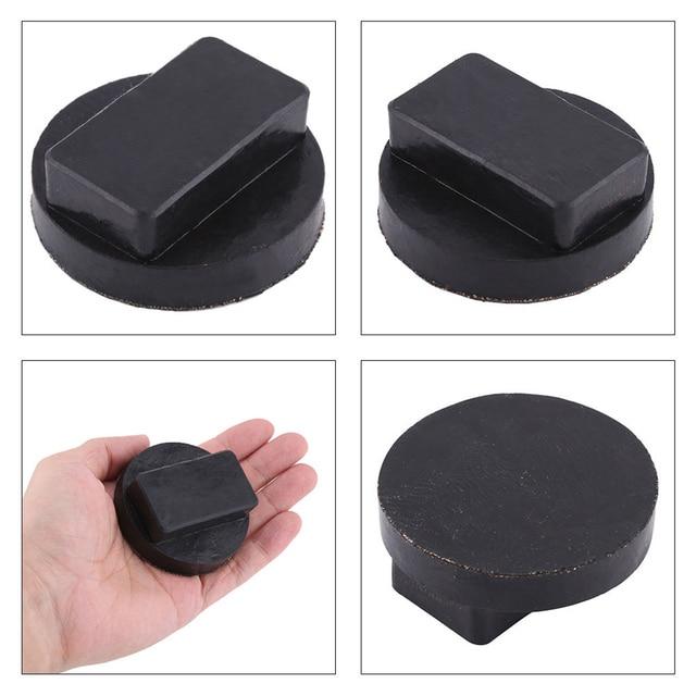 Черный Автомобильный резиновый домкрат с рамкой, защитный домкрат, адаптер, поддерживающий подъемник для BMW 7-series E38, E65, E66, F01, F02