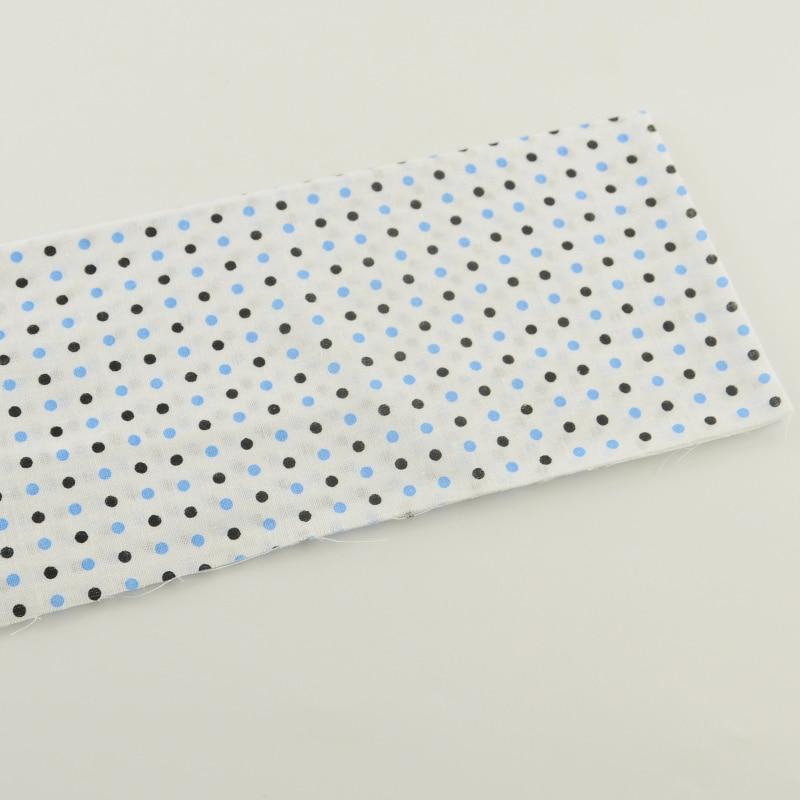 1 piece textile tecido 50cmx50cm dots designs white cotton