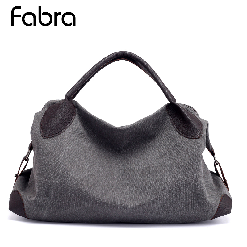 Big Canvas Crossbody Bag Shoulder Bags Handbags Messenger Hobo Bags Big Tote Grey
