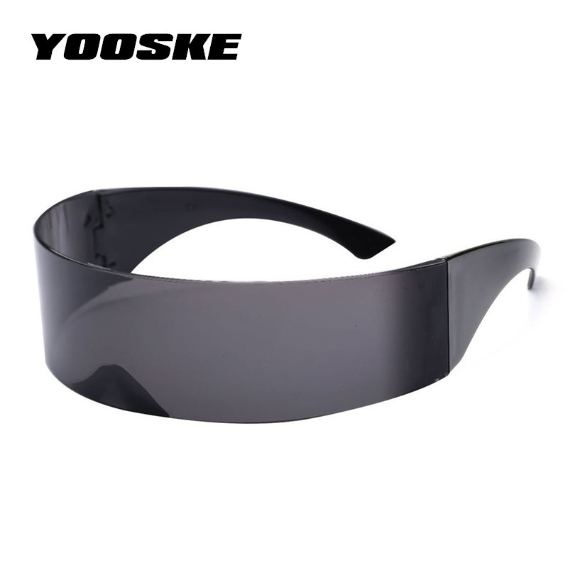 YOOSKE Around Monob Costume <font><b>Sunglasses</b></font> Men Women Hairband Funny Wrap Mask Novelty Glasses Halloween Party Supplies Decoration image