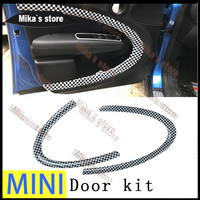 New PC Material Protected Mini Ray Style Indoor door Kit cover For Mini Cooper Countryman R60 (4pcs/Set) decoration Accessories